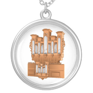Organe de tuyau, graphique Brown d'organe d'église Pendentifs