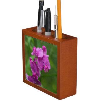 Organisateur floral de bureau de fleurs sauvages