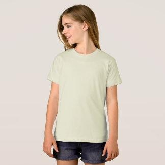 Organische T-shirt van de Kleding van meisjes de