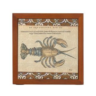 Organiseur De Bureau Illustration vintage de homard