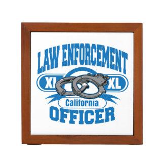 Organiseur De Bureau Menottes d'officier de police de la Californie