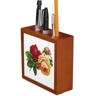 Organiseur De Bureau Roses