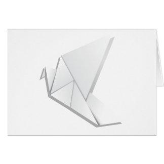 Origami pigeon2 carte