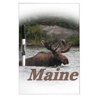 Orignaux du Maine Taureau Tableau Blanc Effaçable À Sec
