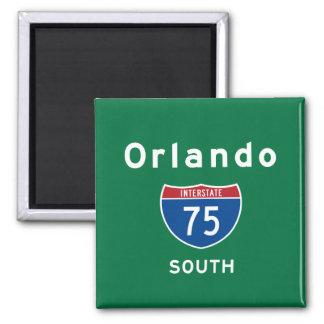 Orlando 75 magnet carré