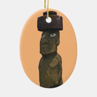 Ornement 1 de Noël de Moai