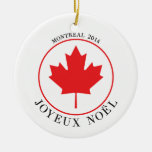 Ornement 2014 de Noël de Montréal (Joyeux Noël)