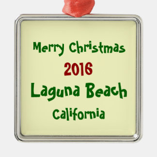 ORNEMENT 2016 de NOËL de la Californie de Laguna