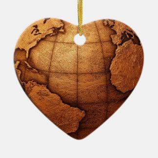 Ornement 2 de coeur du monde