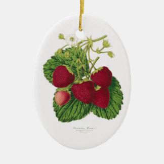 Ornement antique d'impression de fraise