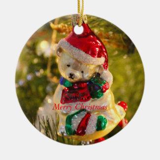 Ornement antique d'ours de Noël