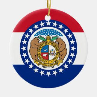 Ornement avec le drapeau du Missouri