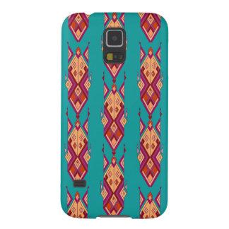 Ornement aztèque tribal ethnique vintage coques galaxy s5