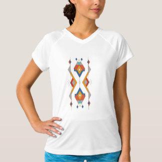 Ornement aztèque tribal ethnique vintage t-shirt