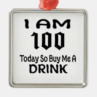 Ornement Carré Argenté 100 m'achètent aujourd'hui ainsi une boisson