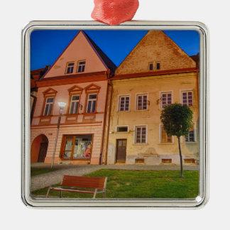 Ornement Carré Argenté Bardejov est une ville de la Slovaquie