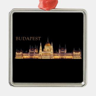 Ornement Carré Argenté Budapest