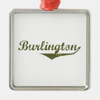 Ornement Carré Argenté Burlington