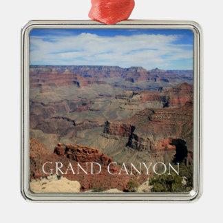 Ornement Carré Argenté Canyon grand 5