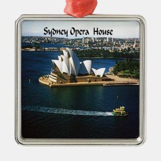 Ornement Carré Argenté Chambre d'Oprea de port de Sydney