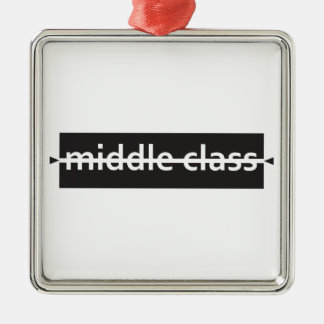 Ornement Carré Argenté classe moyenne