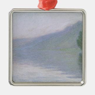 Ornement Carré Argenté Claude Monet | la Seine au Port-Villez, 1894