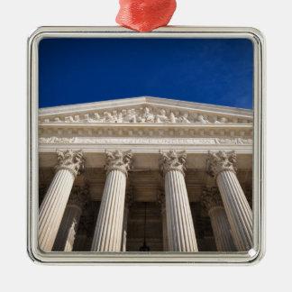 Ornement Carré Argenté Court suprême des Etats-Unis