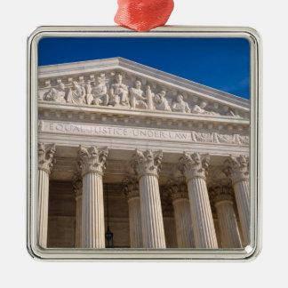 Ornement Carré Argenté Court suprême des Etats-Unis d'Amérique
