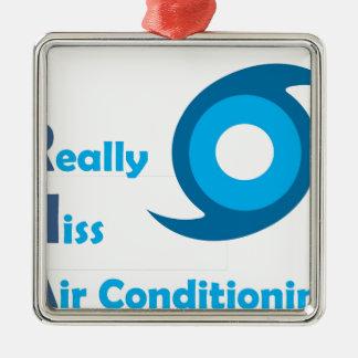 Ornement Carré Argenté IRMA = je manque vraiment la climatisation !