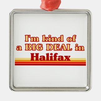 Ornement Carré Argenté Je suis un peu une affaire à Halifax