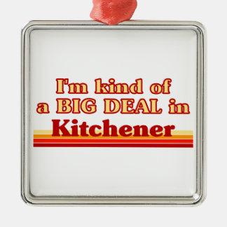 Ornement Carré Argenté Je suis un peu une affaire dans Kitchener
