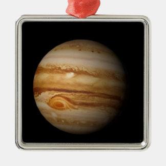 Ornement Carré Argenté Jupiter