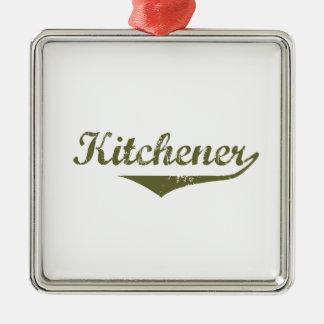 Ornement Carré Argenté Kitchener