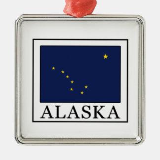 Ornement Carré Argenté L'Alaska