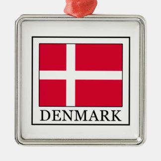 Ornement Carré Argenté Le Danemark