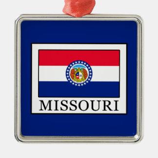 Ornement Carré Argenté Le Missouri