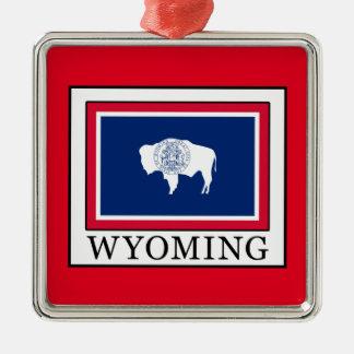 Ornement Carré Argenté Le Wyoming