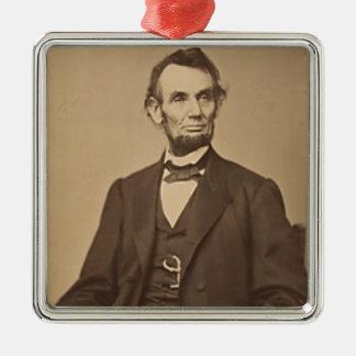 Ornement Carré Argenté Lincoln