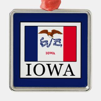 Ornement Carré Argenté L'Iowa