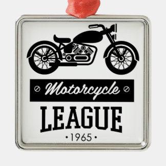 Ornement Carré Argenté Logos de collections de moto
