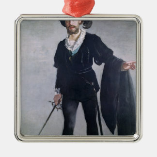 Ornement Carré Argenté Manet | Jean Baptiste Faure comme Hamlet, 1877