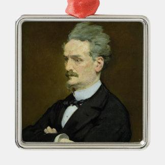 Ornement Carré Argenté Manet | le journaliste Henri Rochefort, 1881
