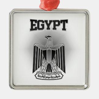 Ornement Carré Argenté Manteau de l'Egypte des bras