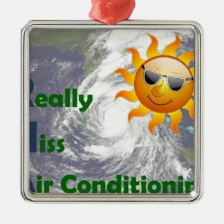 Ornement Carré Argenté Mlle climatisation d'IRMA I vraiment