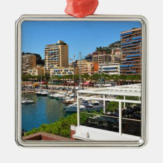 Ornement Carré Argenté Monte Carlo au Monaco