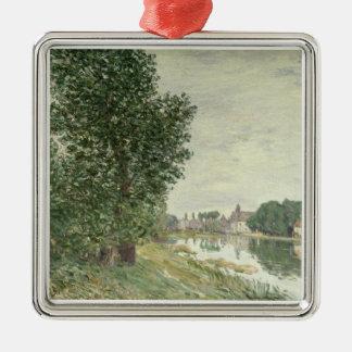 Ornement Carré Argenté Moret-sur-Loing d'Alfred Sisley |