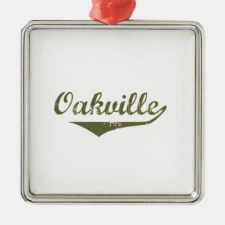 Ornement Carré Argenté Oakville