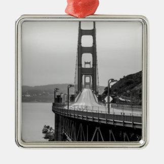Ornement Carré Argenté Obscurité unique de vue de San Francisco golden