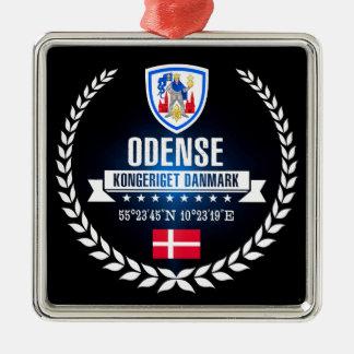 Ornement Carré Argenté Odense