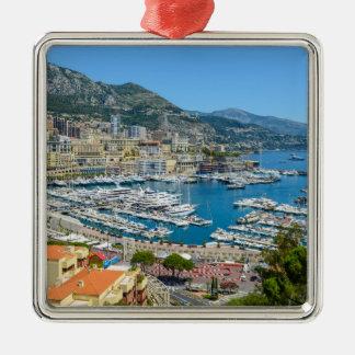 Ornement Carré Argenté Photographie du Monaco Monte Carlo